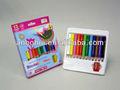 """Bir kaliteli basswood 3.5"""" mini jumbo renkli kalem kağıt kutusu"""