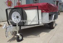 Off road hard floor camper trailer