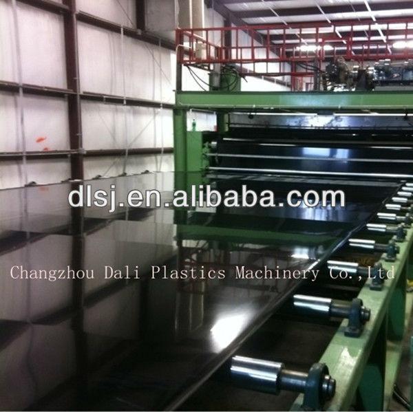 LDPE/HDPE/EVA geomembrane plastic machine