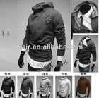 NEW Men&#39;s Clothing Slim Korean boutique hot men&#39;s fashion HOODIE sweater zipper hoodie