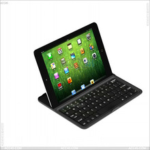 Bluetooth and Keyboard Aluminum Protector Case For iPad Mini P-iPDMINIBTHKB001