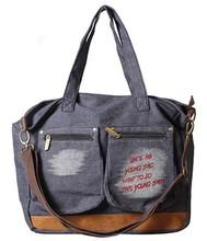 Best-selling vintage canvas pockets hand bag designer