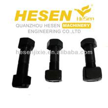 High strength track bolt and nut 12.9 grade