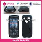 smart phone accessory for Blackberry 9100 gel case