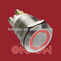 ring illuminated pushbutton switch