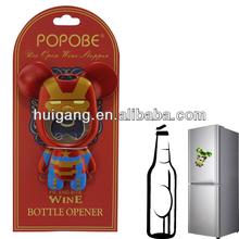5 inch Popobe bear beer bottle opener magnet eva puzzle