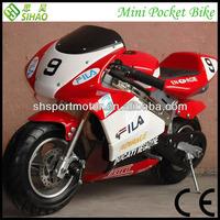 Hot selling 49cc MinI Pocket bike Kids Motorcycles(SHPB-001)