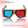 Imagem mestre por atacado fabricantes de anaglyph óculos 3d