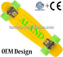 CE Leopard penny skateboard