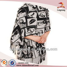 Wholesale Fahion Silk heated shawl