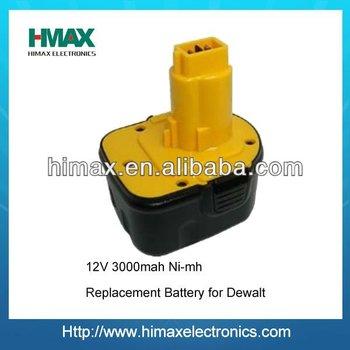 Cordless Drill Power Tool Battery Replacement for Dewalt DE9095 DC9096