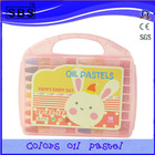 18 color small round oil pastels crayola