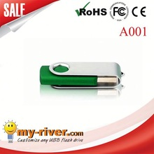 Fashionable 100% Guarantee full capacity mini revolve usb flash memory