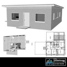 2013 New designed steel villa