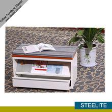 DANPO-SCA steel open shelf bookcase