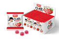 Жевательные фруктовые конфеты в упаковке с разными вкусами