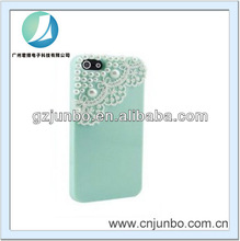 Modern Green Pearl Lace Ice Cream Hard Back Case Cover for Apple iPhone 5