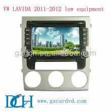special car dvd for volkswagen VW LAVIDA 2011-2012 low equipment WS-9166