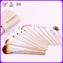12pcs white custom logo make up brush set