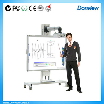 Multiuser USB/RJ45 interactive whiteboard for education,business,conference,etc.world-class interactive board