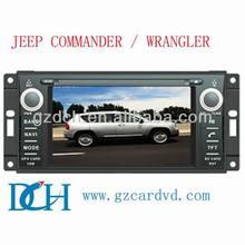 car dvd radio for jeep grand cherokee for JEEP COMMANDER / WRANGLER WS-9133