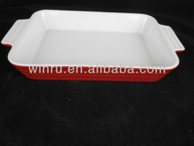 2013 new ceramic bakeware with handles