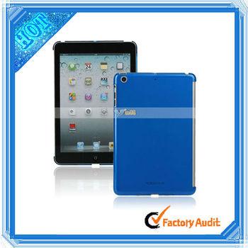 Plastic Mobile Phone Crystal Case For iPad Mini Blue (87007353)