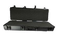 ABS plastic waterproof gun case with wheels