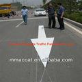علامة تحذير الخطرحاجز لمجلس العمل المتحد ضوء ارتفاع طلاء علامات الطرق