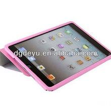 covering one side pu case for ipad mini/for ipad mini pu leather case