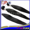 super calidad aaaaa venta al por mayor indio del pelo humano virgen negro para las mujeres