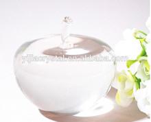 Fashion best sell polished crystal apple model