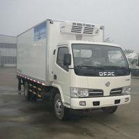 4*2 3T Ice Cream Trucks Diesel Engine refrigerator vans