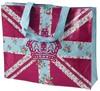 2014 Union Jack Canvas folding Shopping Bag,shopping tote