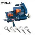 chave que faz a máquina duplicadora chave máquina de corte modelo 219a chave máquina de corte com o cortador externo