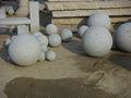 jardín de piedra natural de bolas