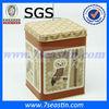 square custom printed tin box for pet food