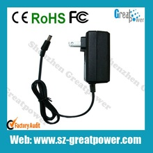 5v 1a/5V 2A 2.45*0.7mm android tablet charger exporter & manufactory