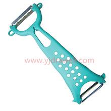 PE-0306 FDA & LFGB Plastic Handle multi function peeler