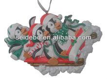High quality resin christmas decorations,custom made christmas ornaments