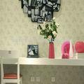 la decoración del hogar de papel de pared islámica de flores de diseño italiano