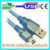 Good quality usb cable to Mini 5Pin mini b male