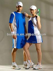 ladies fashion blue sport wear,tennis skirt