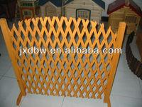 Expandable Wooden Flexible Gate Fence