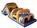 Parcours d'obstacles château gonflable/commerciaux. parcours d'obstacles gonflables/parcours d'obstacles de jeux pour les enfants