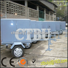 Mobile Type Transformer Oil Regeneration Equipment/Vacuum Oil Purification With Trailer, oil filtration