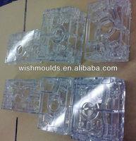 Custom Molded plastic parts production