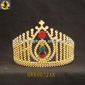 Coroa de ouro com a princesaimagem/plástico coroa tiara