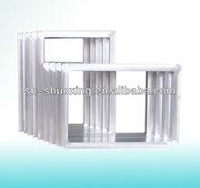 Aluminum screen printing frames