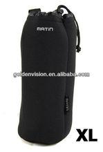 M size Neoprene DSLR D-SLR Lens Pouch Case Bag 105mm x 250mm BLACK for DSLR